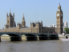 Britse parlement en Big Ben