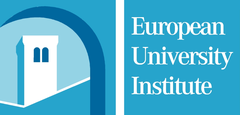 Logo European University Institute met kerktoren in Florence