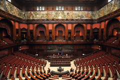 Politieke situatie itali europa nu for Immagini parlamento italiano