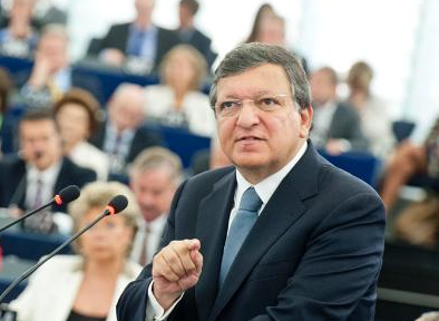 Commissievoorzitter Barroso tijdens State of the Union 2013