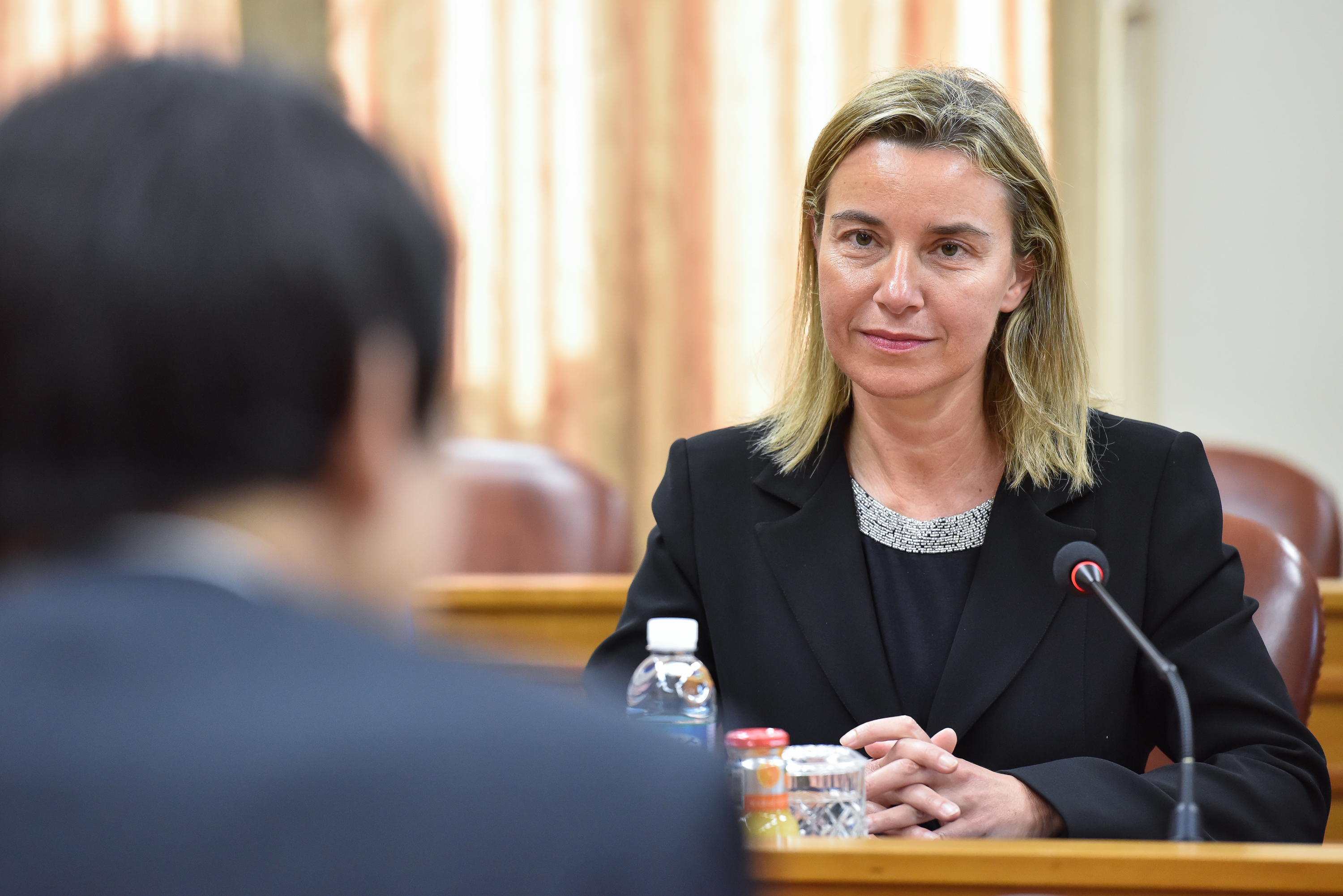 Mogherini visits the Republic of Korea