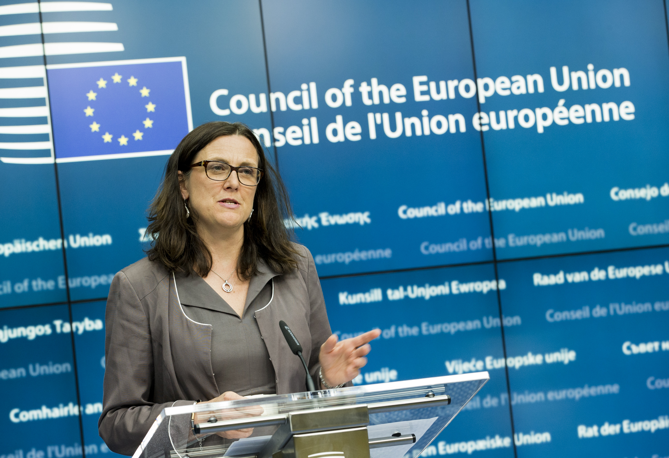 Ms. Cecilia MALMSTROM, Member of the European Commission.