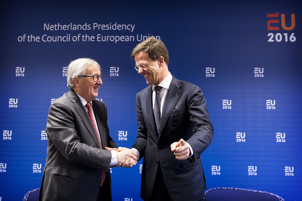 Aankomst EU Commissie / Arrival EU Commission