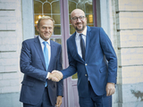President TUSK meets Charles MICHEL