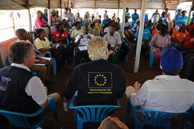 Visit by Christos Stylianides, Member of the EC to Uganda
