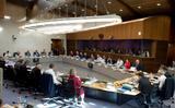 Commissie-Juncker in vergadering