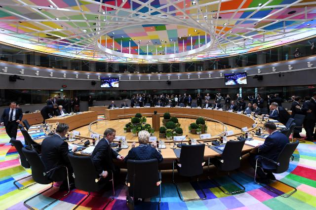 General view of the European Council