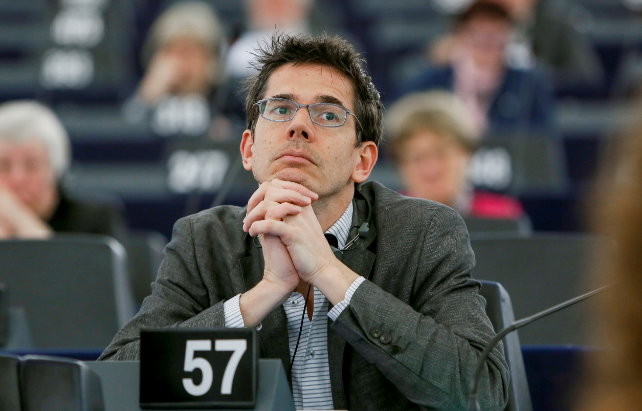 Bas Eickhout in het Europees Parlement