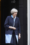 Theresa MAY voor Downingstreet 10