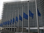 European Commission's flags at half-mast following the serious flooding in Balearic ...