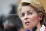 Ursula von der Leyen, President-elect at the EP press conference