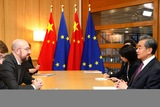 President Michel meets MFA of China