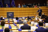 President Michel at the European Parliament